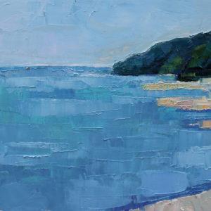 Empty beach - 30x50 cm