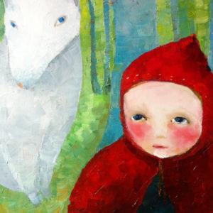 Little Red Riding Hood - 40x50 - cm