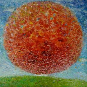 Tree of happiness - 80x80 cm - 2006