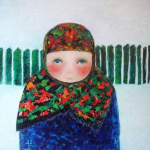 Ileana - 100x100 cm - 2009