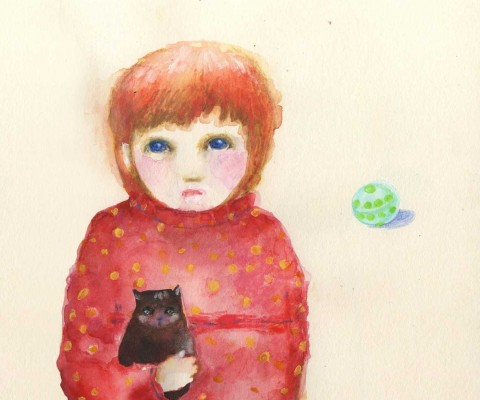 Loneliness - 20x20 cm - 2011