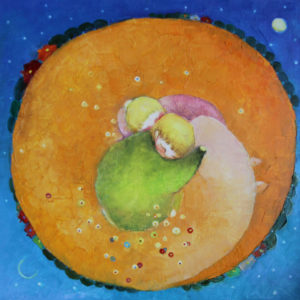 Dream with the yellow dragon - 50x50 cm - 2012