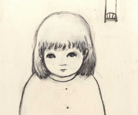 Self portrait - 20x20 cm - 2011