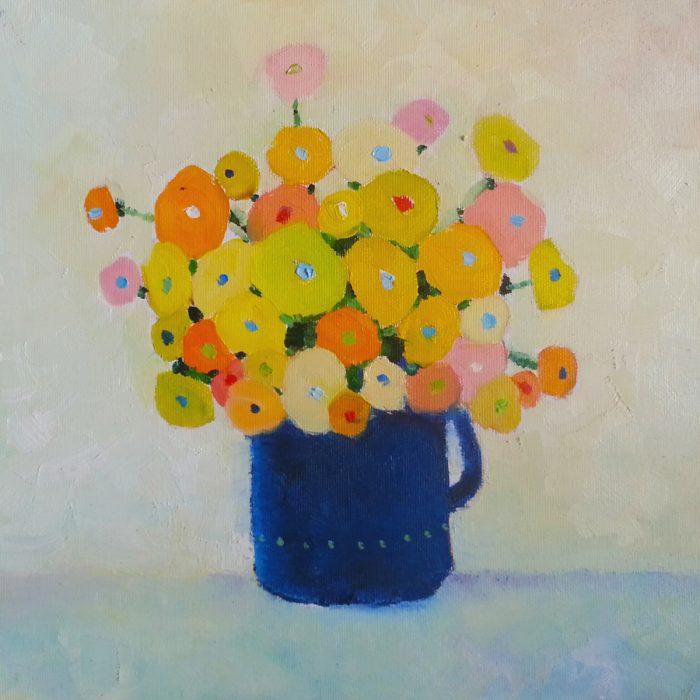 Flowers - 30x30 cm