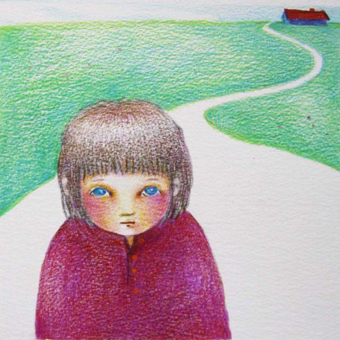 The road - 21x22 cm - 2011