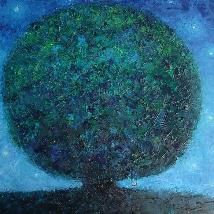 Tree of hope - 80x80 cm - 2006