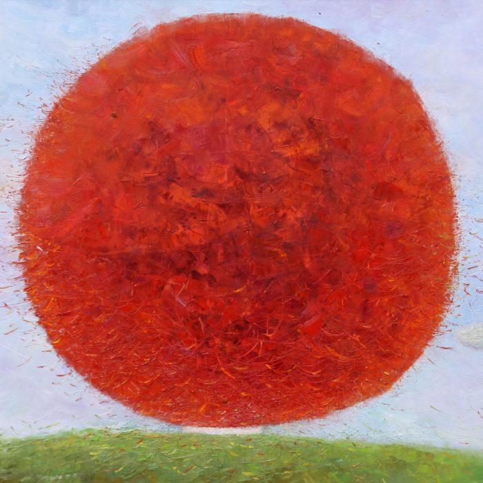 Tree of happiness - 80x80 cm - 2009