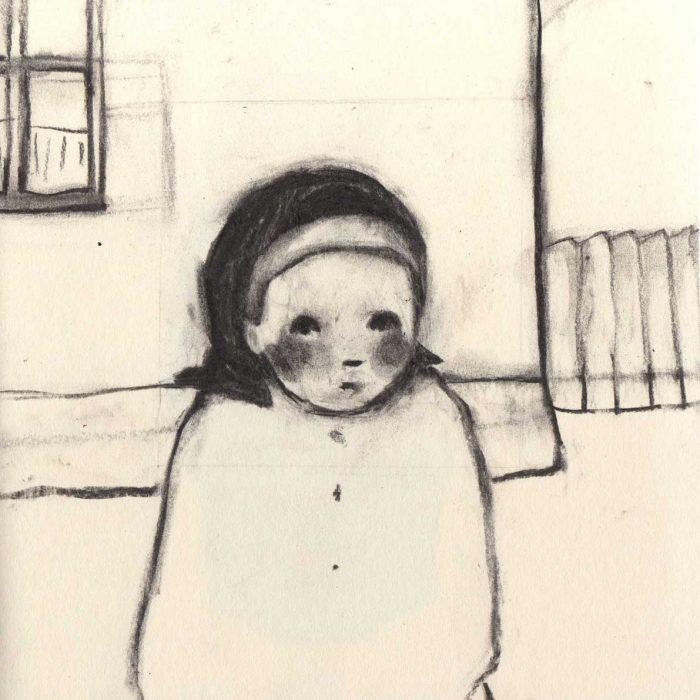 Portrait of my grandmother - 20x20 cm - 2011