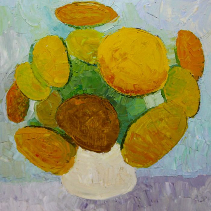 Sunflowers - 50x50 cm